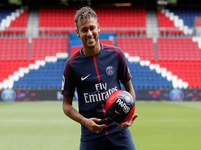 Neymar has joined PSG from Barcelona for £198m