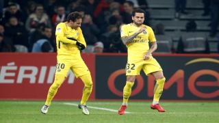 Neymar and Dani Alves have already hit it off brilliantly for Paris Saint-Germain