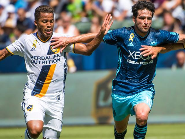 Nicolas Lodeiro has already scored four times since his summer move to the Seattle Sounders
