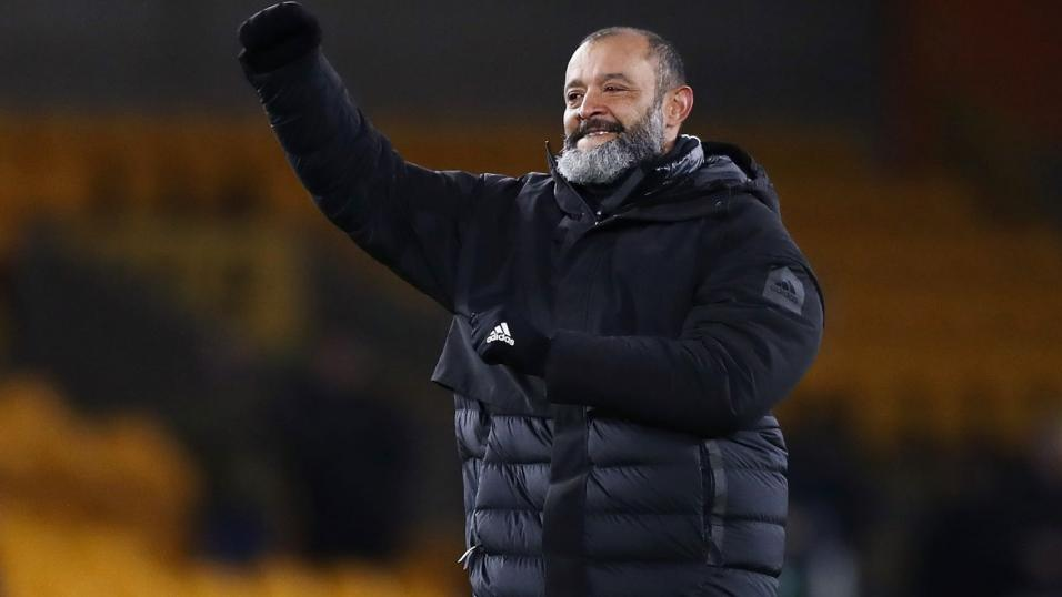 Wolves manager Nuno.