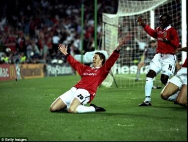 """And Solksjaer has won it!!"""