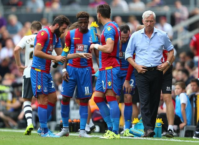 Alan Pardew has got his Palace players playing at the top of their game
