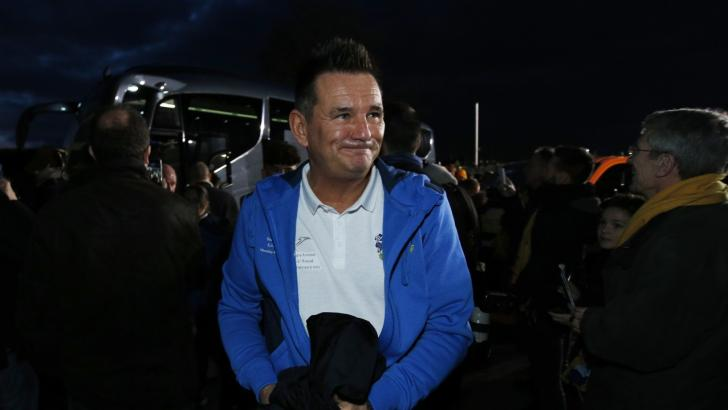 Paul Doswell, manager of Sutton United, was in the media spotlight last year in the FA Cup