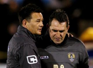 Paul Doswell couldn't outwit Martin Allen, then of Notts County, but will relish facing Cheltenham