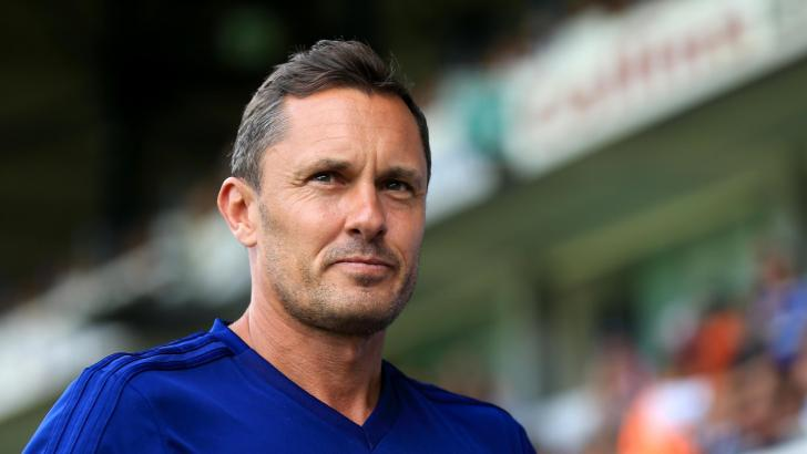 Paul Hurst, the Grimsby Town manager