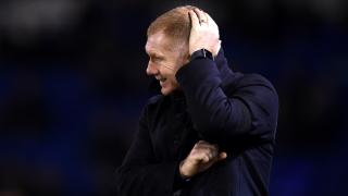 Paul Scholes, the Oldham Athletic manager