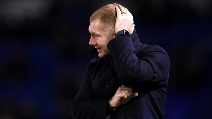 Paul Scholes, the interim Salford City manager