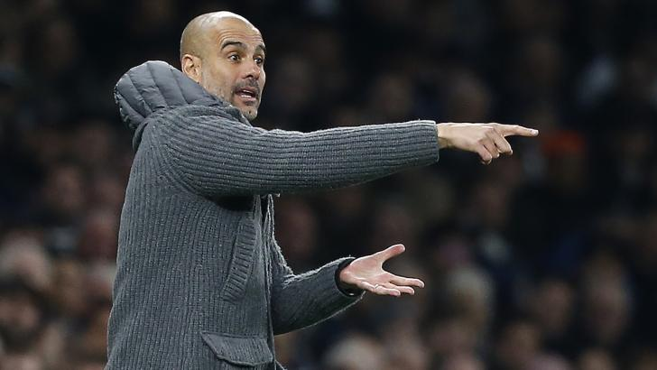 Pep Guardiola: Challenged his players to respond