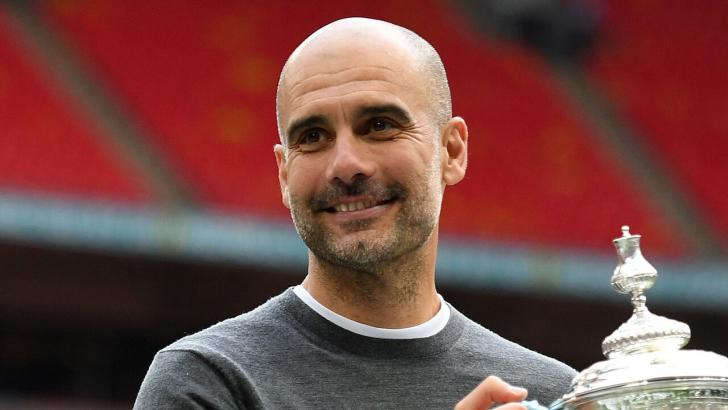 Guardiola's hoping to oversee City's Champions League success