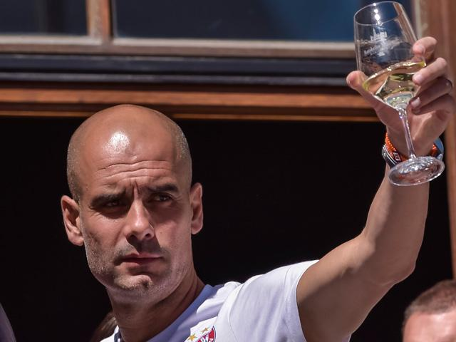 Will Pep Guardiola be toasting title success in May?