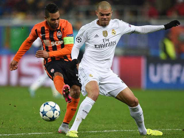 Real Madrid haven't kept a clean sheet in any of Pepe's last four starts under Zinedine Zidane