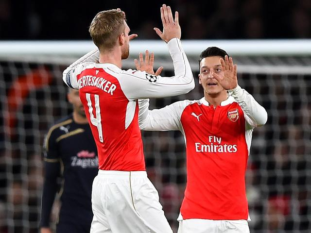 Mesut Ozil has abruptly silenced his critics in his third season with Arsenal
