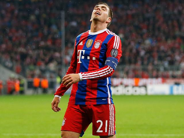 Philipp Lahm has plenty of experience of these occasions