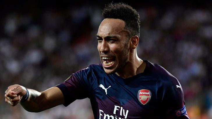 Arsenal forward Aubameyang