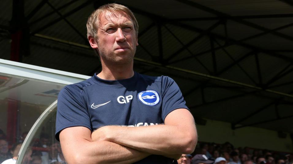 Brighton manager Graham Potter.
