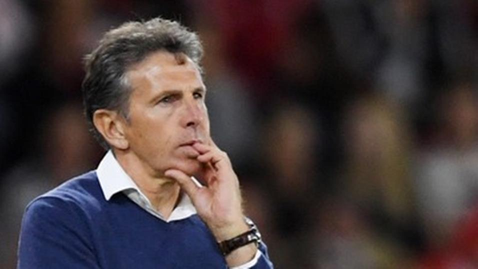 Leicester City manager Claude Puel