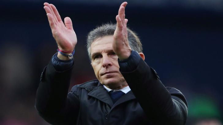Leicester manager Claude Puel.