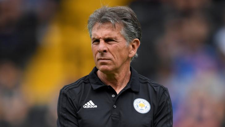 Leicester boss Claude Puel