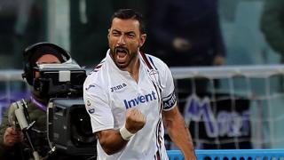 Sampdoria and Italy striker Fabio Quagliarella