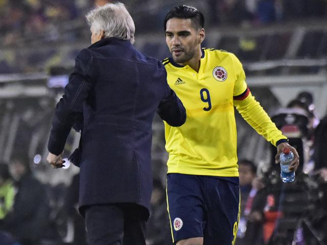 Radamel Falcao captains the Colombia side that recently beat Brazil at Copa America