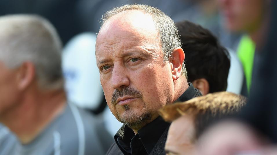 Newcastle manager Rafa Benitez.