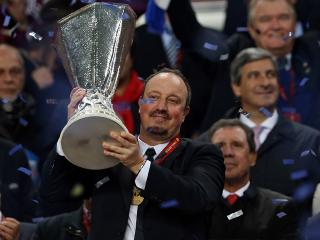 Rafa Benitez won the Europa League with Chelsea and takes charge of his first home game at Newcastle on Sunday