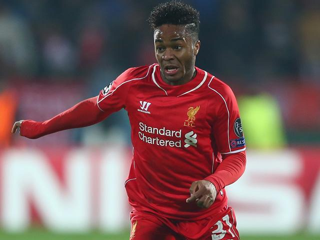 Raheem Sterling sampled Champions League football for the first time in 2014/15