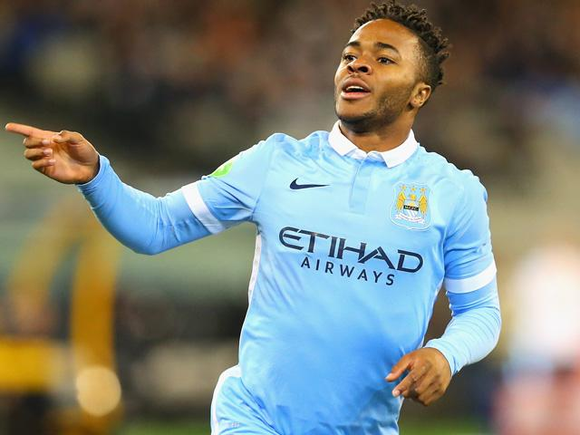 Raheem Sterling scored a hat-trick in Man City's 5-1 win over Bournemouth