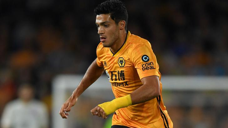 Wolves striker Raul Jimenez