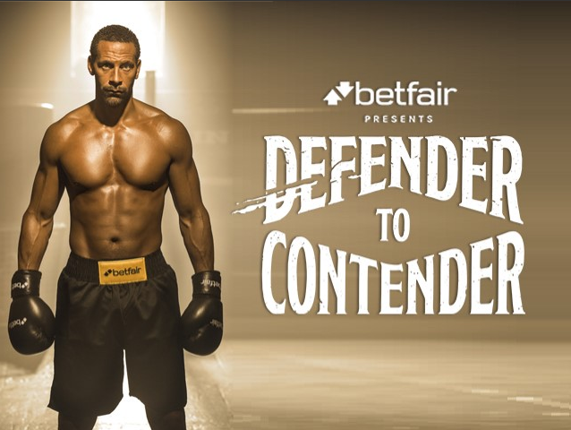 Rio Ferdinand is Defender to Contender in new Betfair campaign