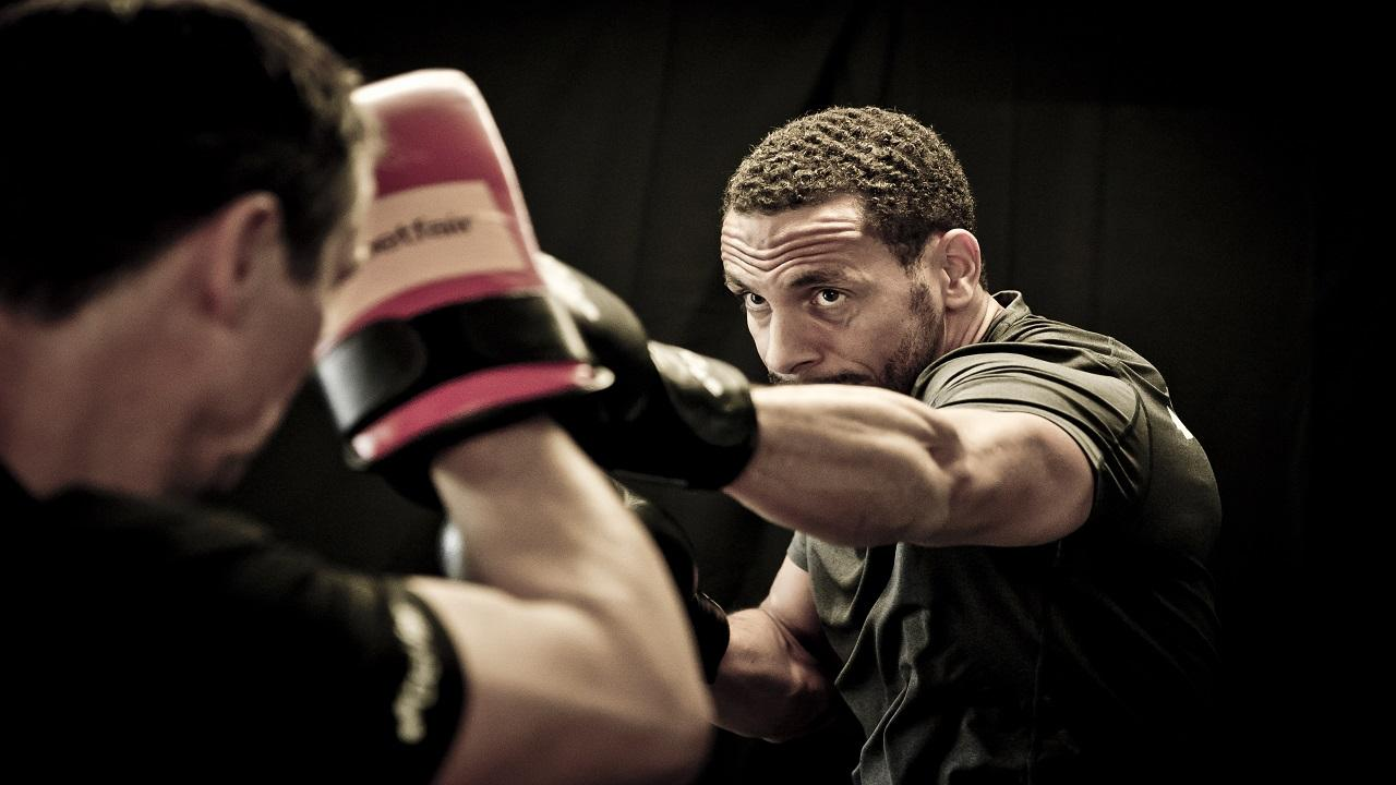 Rio Ferdinand has trained in the ring for the first time