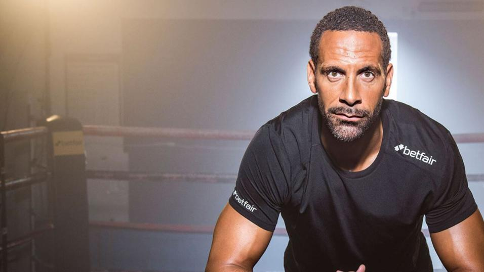 Rio Ferdinand continues his training in his bid to become a professional boxer