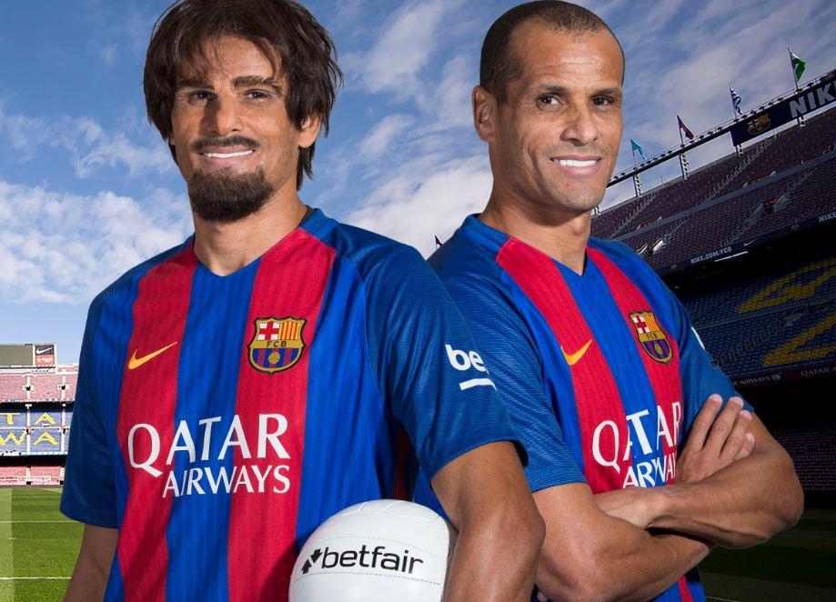 wholesale dealer 6459e 37395 Undercover Rivaldo surprises FC Barcelona Fans in Betfair ...