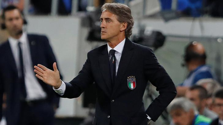 Italy manager - Roberto Mancini