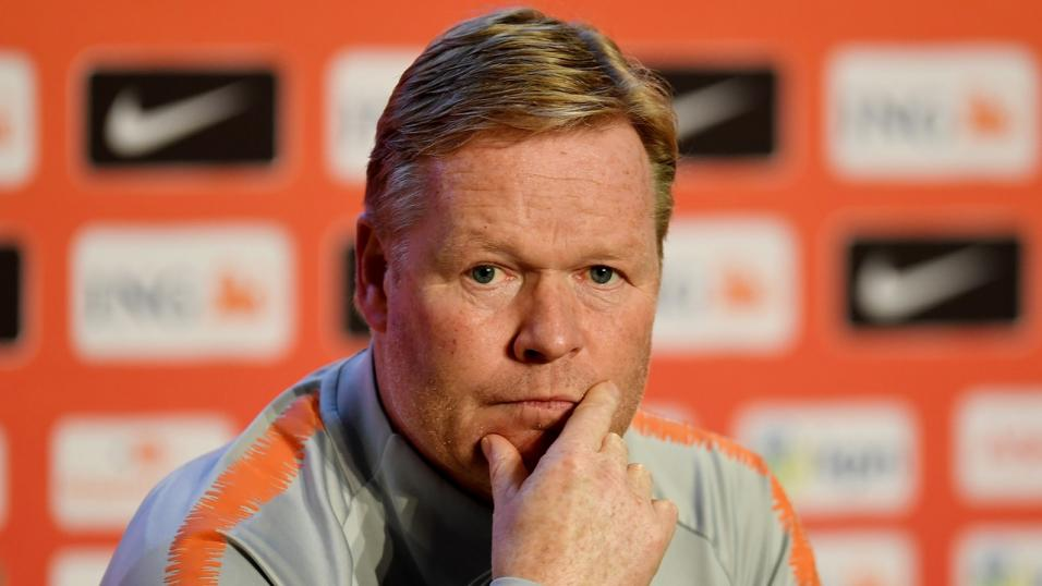 Netherlands boss Ronald Koeman