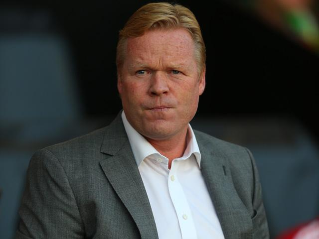 Will Ronald Koeman look happier after Southampton's match with West Brom?