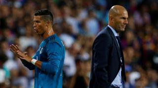 Real Madrid's Ronaldo and Zidane - Champions League