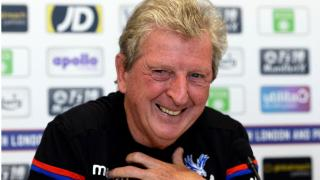 Crystal Palace boss Roy Hodgson