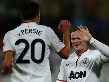 Van Persie and Rooney are the elite strike partnership in the Premier League says the Betfair Contrarian