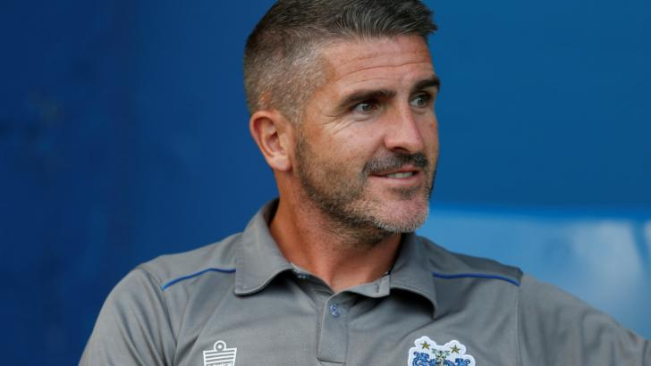 Ryan Lowe, the Plymouth Argyle manager