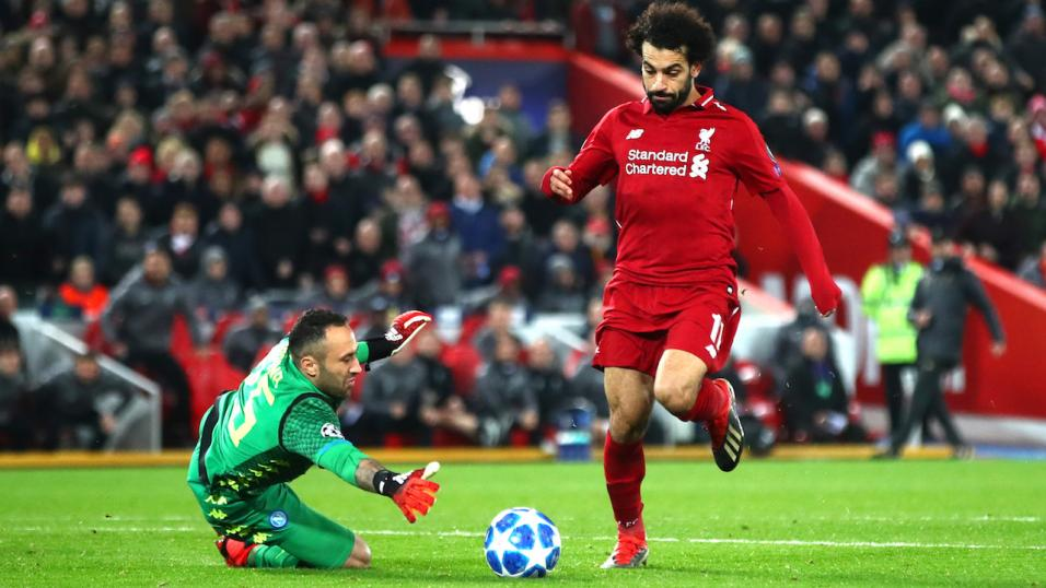 Mohamed Salah is Liverpool's obvious attacking threat