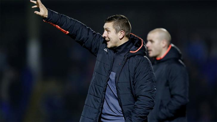 Salford City Manager - Anthony Johnson