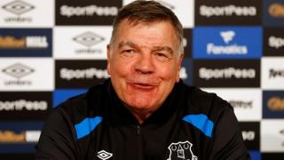 Will Sam Allardyce be smiling after Everton match with Brighton?