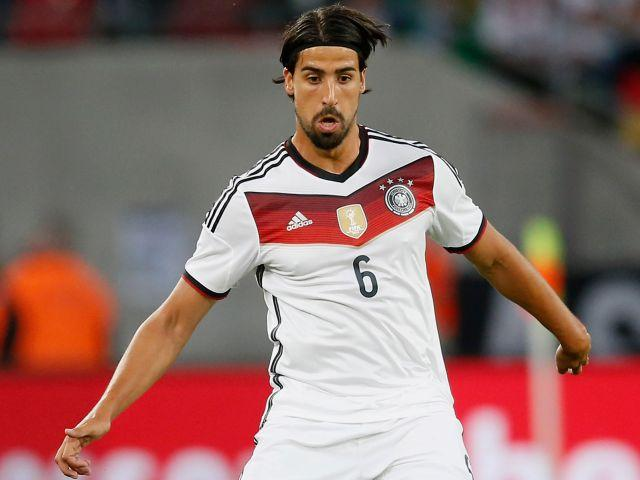 New signing Sami Khedira is part of Juventus' squad to face Borussia Dortmund