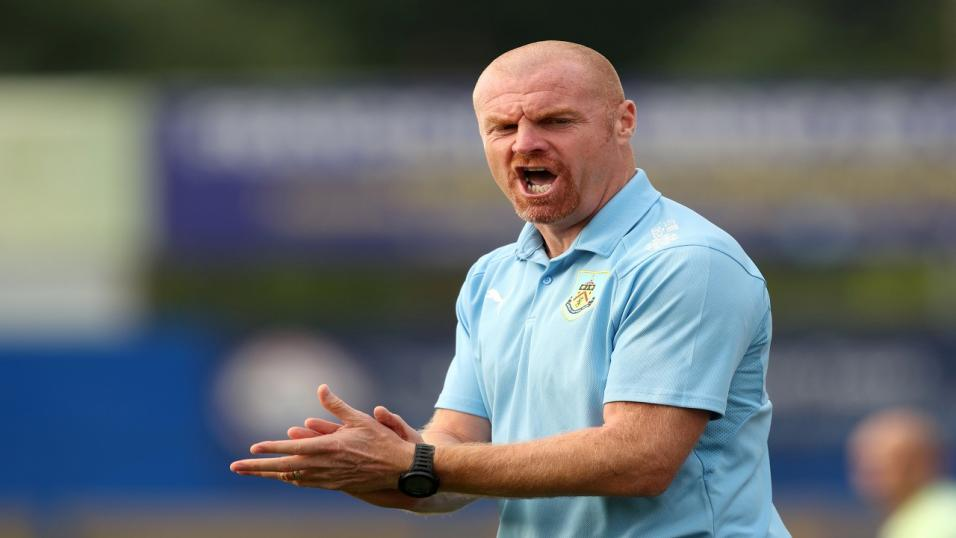 Sean Dyche - Burnley manager