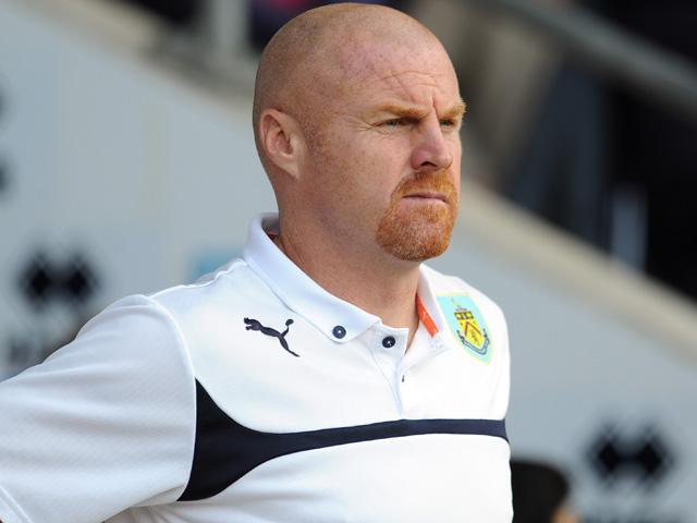 Sean Dyche is still to see his Burnley team win away from Turf Moor