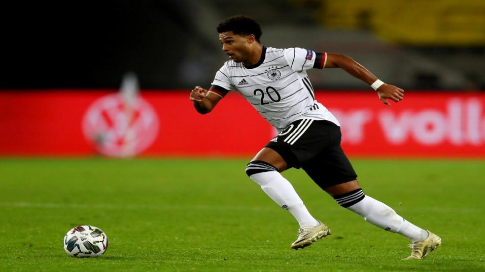 Germany and Bayern forward Serge Gnabry