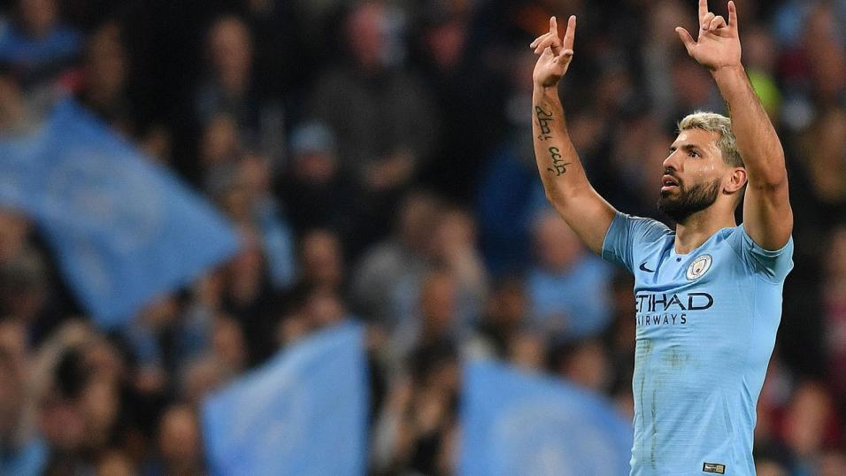 Sergio Aguero: Eight goals in his last five games