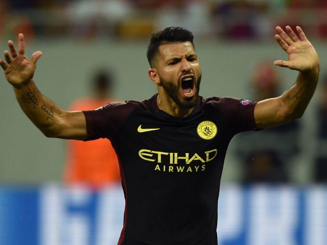 Sergio Aguero could get the chance to atone for his mistake on Saturday