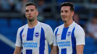 Shane Duffy and Lewis Dunk.